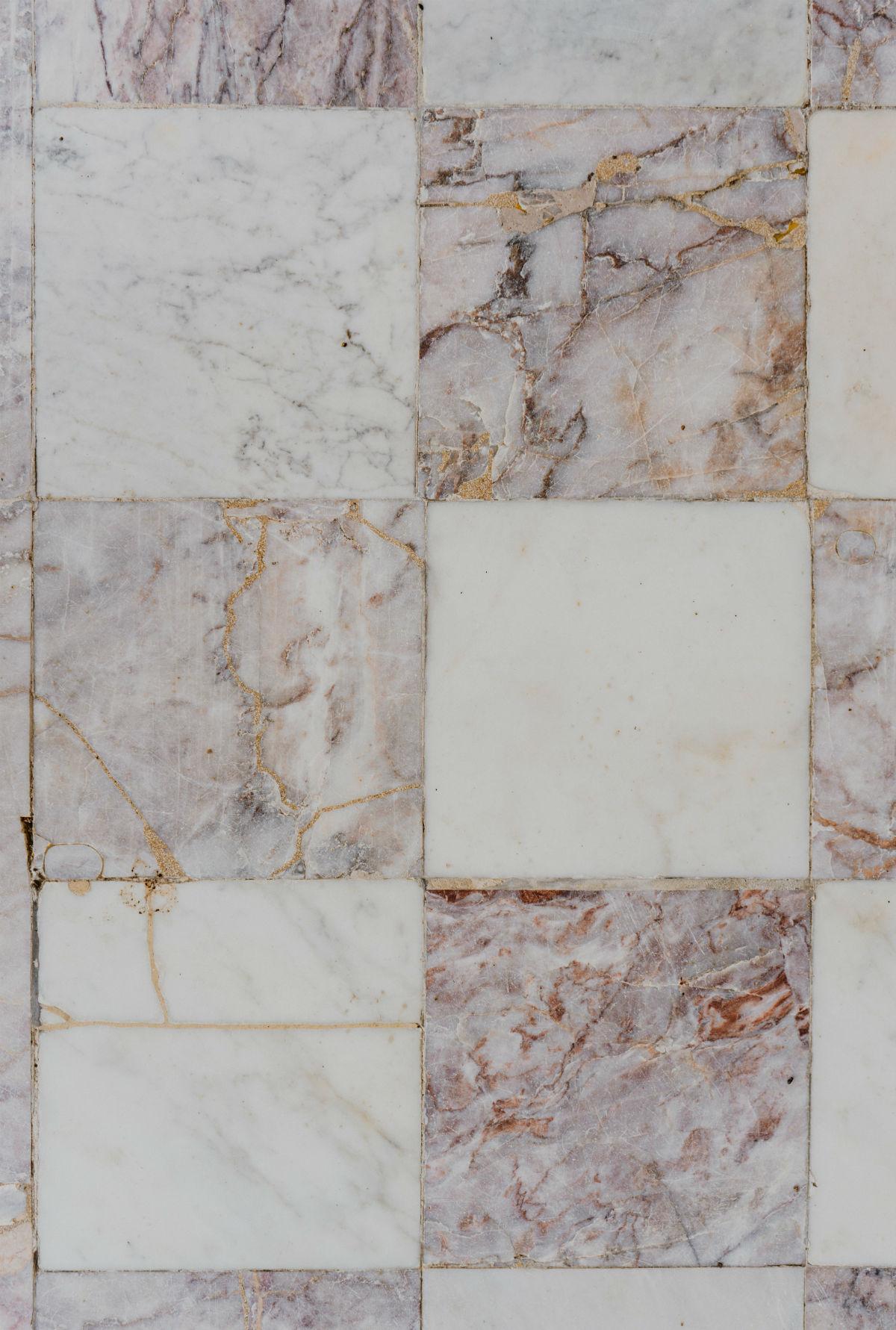poncage marbre